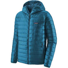 Patagonia Down Sweater Hoodie Men, balkan blue